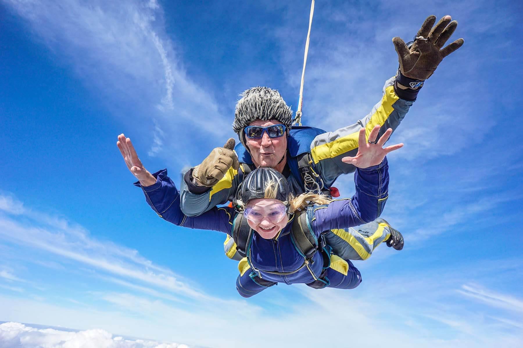 Skydiving aberdeen