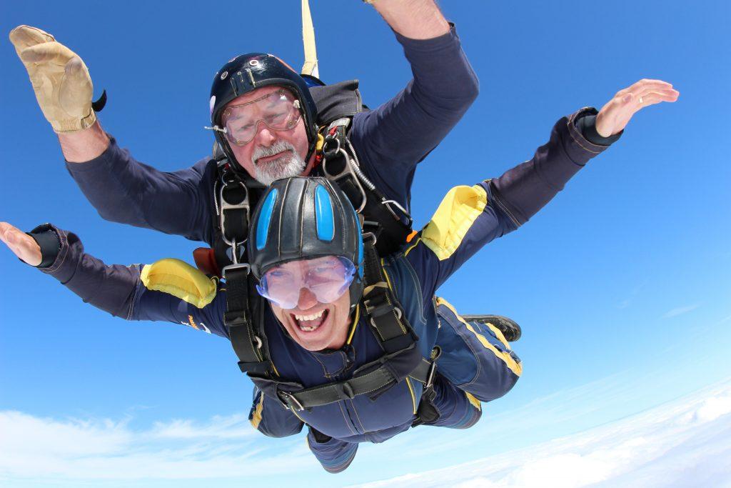 Tandem Skydiving with UK Parachuting - UK Parachuting