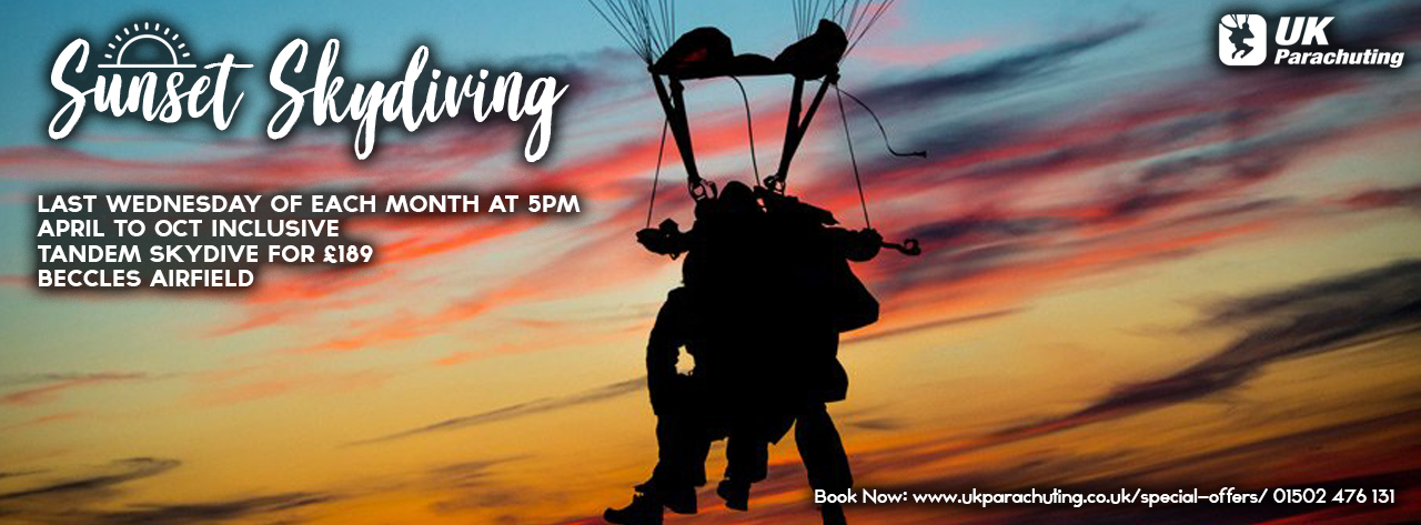 Special Offers - UK Parachuting